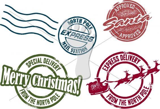 Santa North Pole North Pole And Image Vector On Pinterest