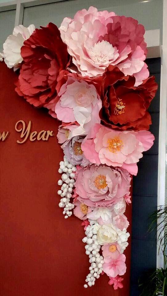 beautiful paper flowers                                                                                                                                                      More