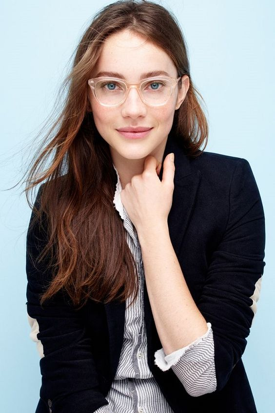 Warby Parker glasses: LUCY