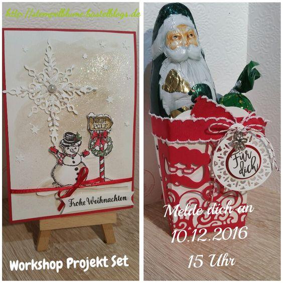 Workshop Projekte...Verpackung aus der Leckereienbox...