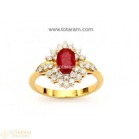 141 best Indian Diamond Rings images on Pinterest