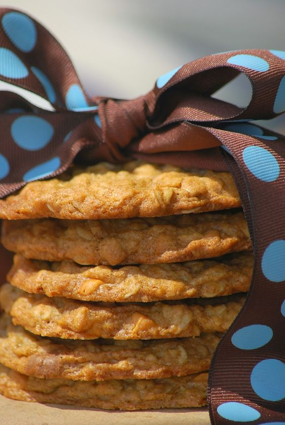 My story in recipes: Butterscotch Oatmeal Cookies