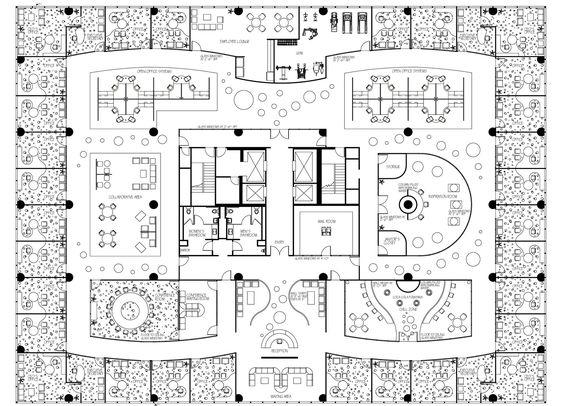 Open Office Floor Plan Designs Executive Office Floor