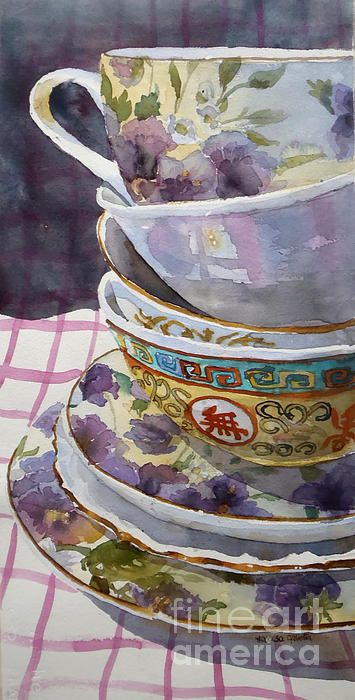 repeated objects    Marisa Gabetta - Teatime:
