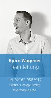Björn Wagener – Teamleitung