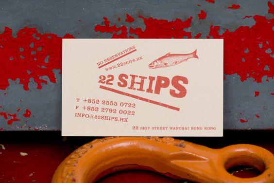30 Cartões de visita minimalistas para inspiração - Choco la Design   Choco la Design