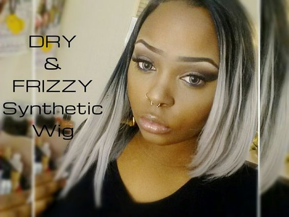 How To Restore Dry Frizzy Synthetic Wigs Diamond Kha Tor