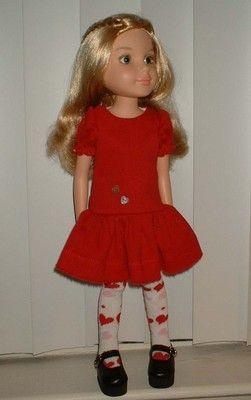 "FASHION FUN ~ for 18"" BFC, Ink ~ by SuzyB ~ doll dress set"