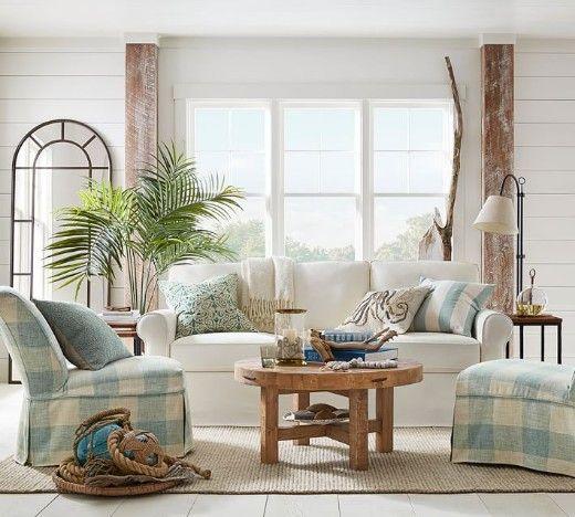 16 Neutral Coastal Living Room Designs Decor Ideas Furniture