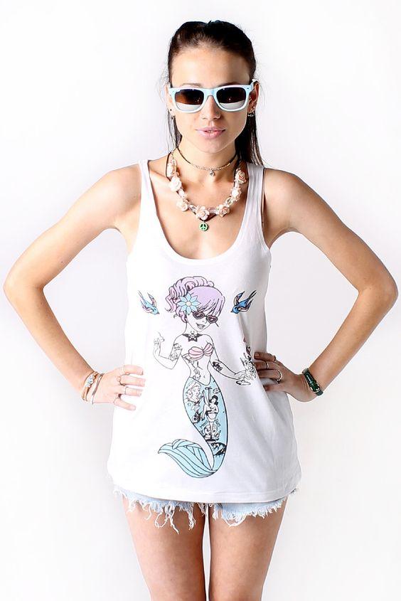 Tail Me About it Mermaid Vest