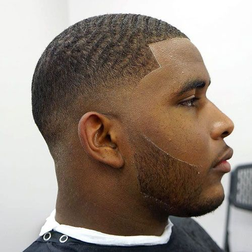 Drop Fade Waves Haircut With Part 8