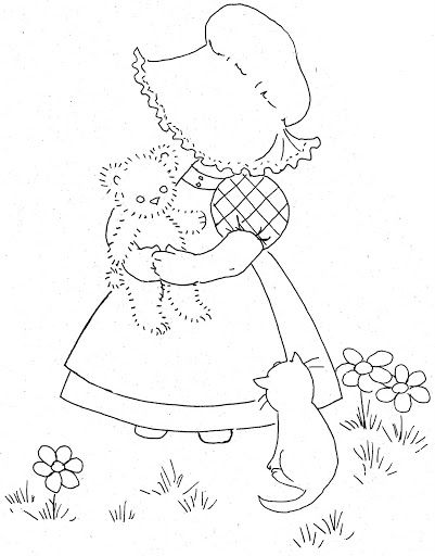 girl pattern coloring pages - photo#36