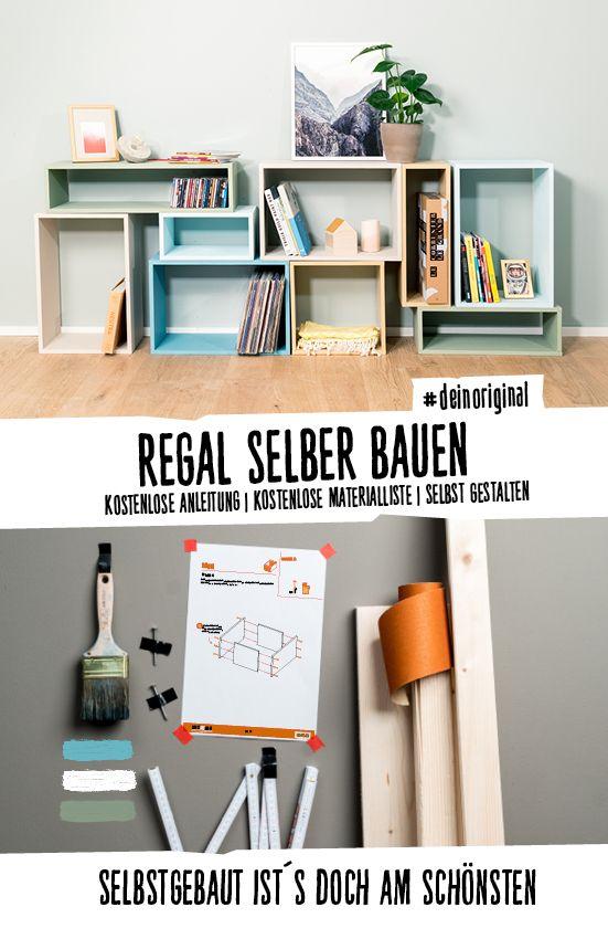 Regal Max selber bauen Alle Möbel | Aufbewahrung
