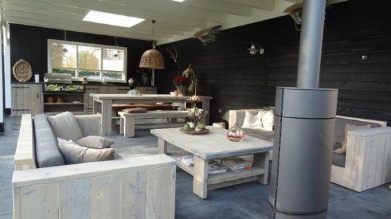 11 best huizen plat dak images on Pinterest Modern houses - garten lounge uberdacht