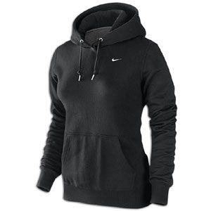 Nike Classic Fleece Swoosh Pullover Hoodie - Women's - Small - Black
