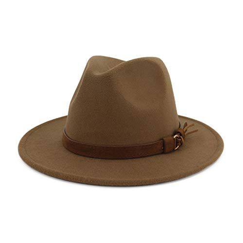 Lisianthus Womens Wide Brim Fedora Jazz Hat