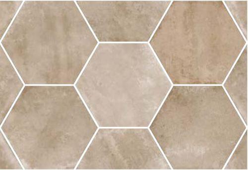 Le Carrelage Hexagonal Beige Marron Antiderapant 29 2x25 4cm Urban Hexagon Nut 23519 1m Est Impeccable Pour Le Sol Carrelage Hexagonaux Carrelage Hexagonal