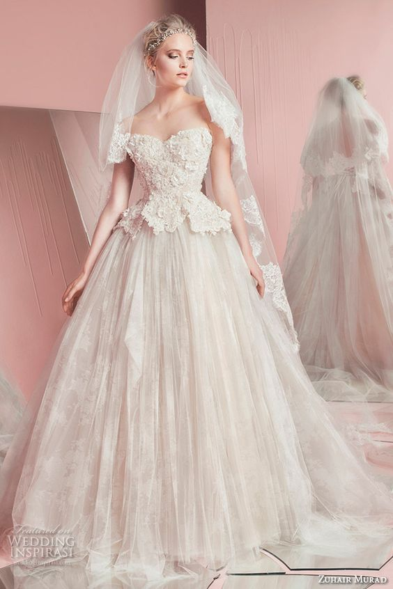 Zuhair Murad Bridal Spring 2016 Wedding Dresses | Wedding Inspirasi: