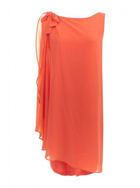 Robe fluide à voile CORAIL - Robes Femme - NAF NAF