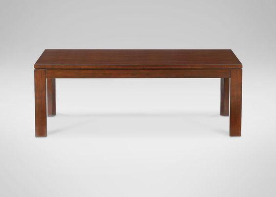 Midtown Rectangular Coffee Table - Ethan Allen