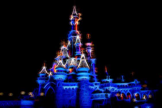 Sleeping Beauty Castle (Disneyland Paris) - created with Topaz Glow