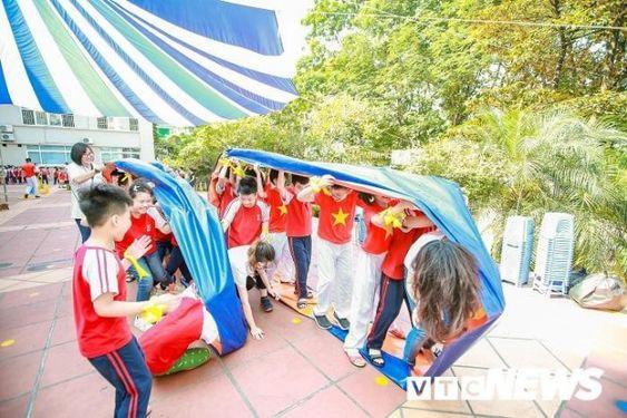 Áo cờ đỏ sao vàng trường tiểu học CGD Victory Hà Nội - Hình 5