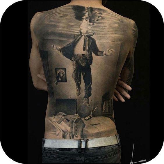 3D Back Tattoo                                                       …