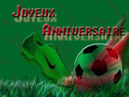 carte joyeux anniversaire foot gratuite à imprimer Carte D'invitation Anniversaire Gratuite Football New Carte D