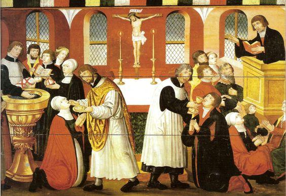 Cranach Lutheran Reformation worship