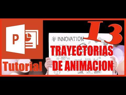 Como Colocar Trayectorias De Animación En Power Point Tutorial 13 Youtube Animacion Habla Y Lenguaje Gifs