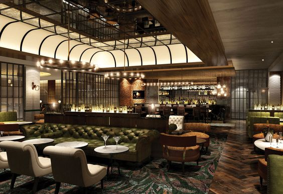 Hilton london bankside interior design hotel design - Interior design for hotels and restaurants ...