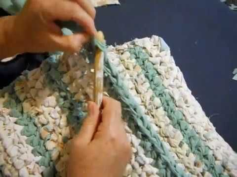 Please View This Super Easy Rag Rug
