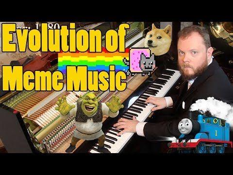 Evolution Of Meme Music 1500 Ad 2018 Youtube Music Humor Memes Evolution