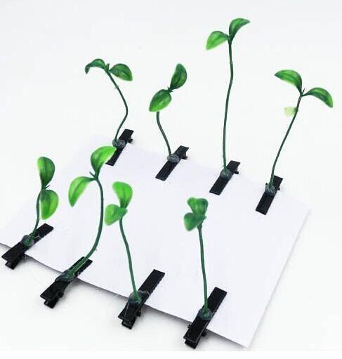 Pflanzenhaarnadel Glücklich Gras Haarnadel Der Pilz Haarspangen Kleine Sprossen Haarnadel Simulation Pflanzen Kinderhaarspangen Von