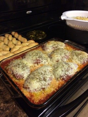 This is my homemade recipe that I have been working on for over 10 years.  Many people have devoured this meal, and enjoyed its rich and authentic Italian taste.  For those who love garlic, cheese, and the rich taste of Italian seasonings will love this authentic Italian dish.
