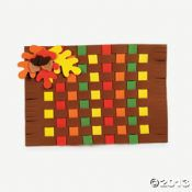 Fall Colors Weaving Place Mat Craft Kit