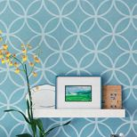 Morroccan inspired pattern spotted in Better Homes & Gardens