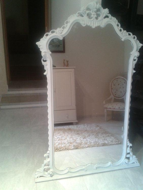 mega espejo genial para una pared grande o una tienda hugh shabby mirrow i