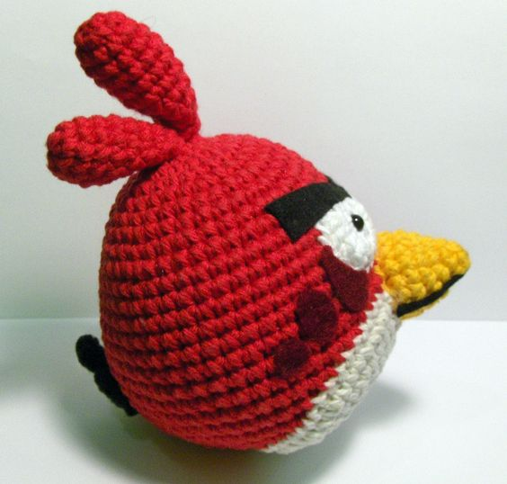 Amigurumi Crochet Egg Pattern : Free Crochet Amigurumi Animals Pattern Amigurumi Angry ...