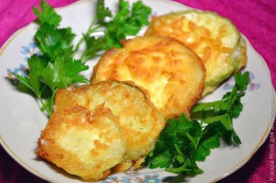 Кольраби в кляре / Рецепты с фото