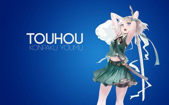 Blue konpaku Youmu by AssassinWarrior