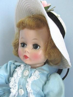 1950's Beautiful Vintage Madame Alexander Cissette Doll FAO Schwarz Dress #930