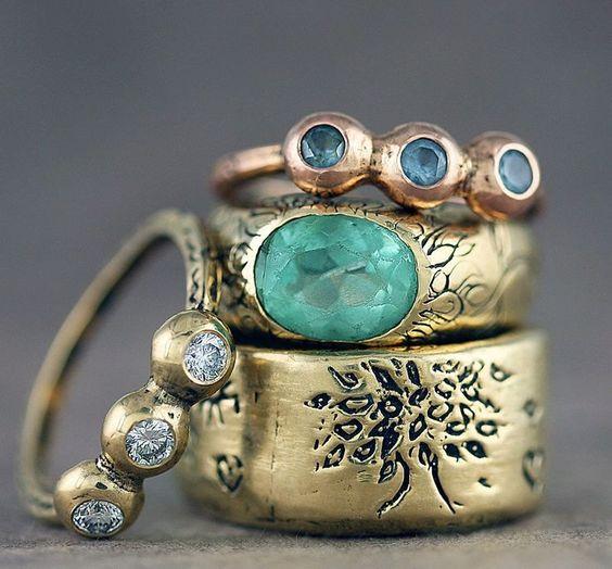 gorgeous jewelry by Jes MaHarry