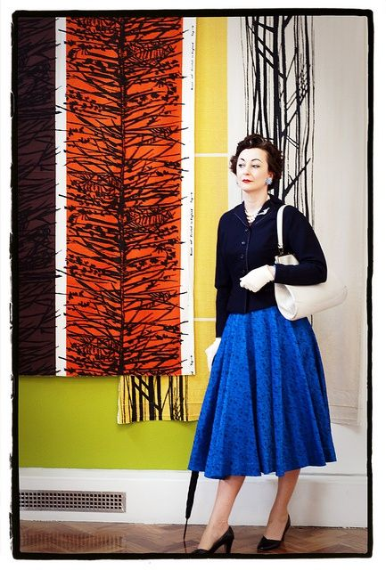 Lucienne Day- fabric designer