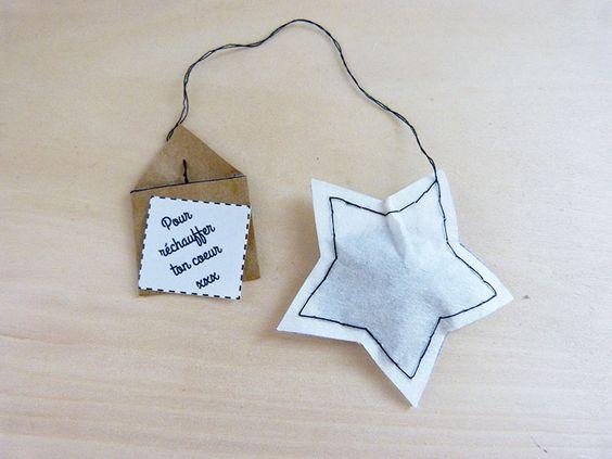 DIY Sachet de thé + message / DIY Tea bag + personal message