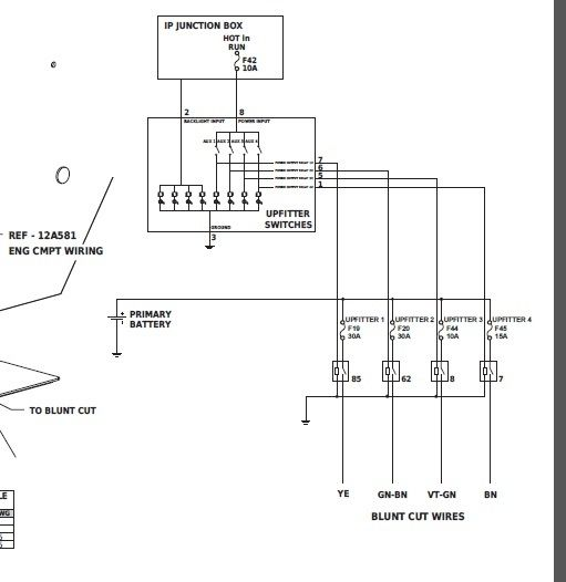 Ford Upfitter Switch Wiring | New cars, Ford, Switch | Ford F350 Upfitter Switch Wiring Diagram |  | Pinterest