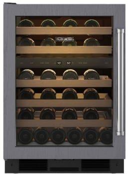 Sub Zero Uw24olh Sub Zero Uw 24 Undercounter Wine Storage Left Hinge Door Swing Ready F Undercounter Wine Cooler Built In Wine Cooler Stainless Steel Doors