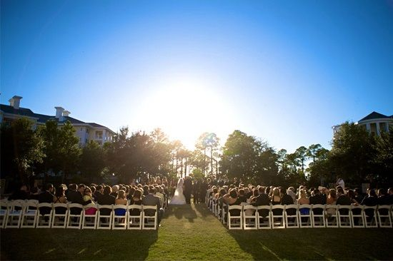 "For a Destin Florida Wedding: Say ""I Do"" on the lush green lawns of The Grand Lawn at Sandestin Golf and Beach Resort, one of Sandestin's many beautiful outdoor venues."