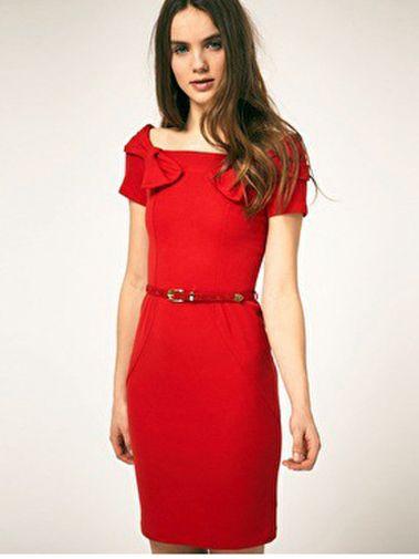 wholesale elegant dresses with popular simple style  $ 10.3