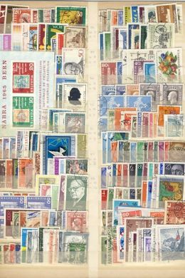 Lot of Unresearched stamps - Collection of Europe